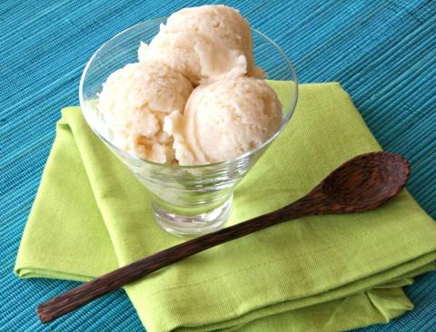 Cherimoya ice cream