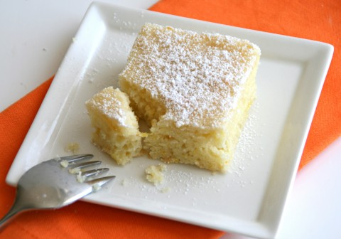 Orange-Almond Yogurt Cake