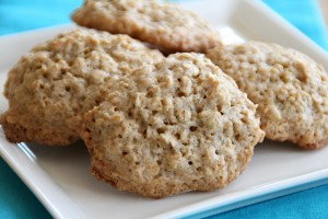 Flourless Caramel Oat Cookies on Shockingly Delicious