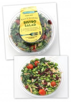 Trader Joe's Kale & Edamame Bistro Salad | ShockinglyDelicious.com