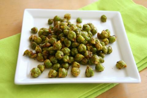 Spicy Fresh Garbanzo Beans