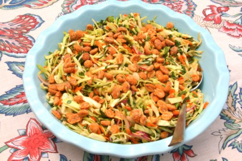 Thai-Style Cabbage Slaw from Shockinglydelicious.com