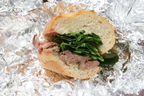 Steak sandwiches from In Erika's Kitchen