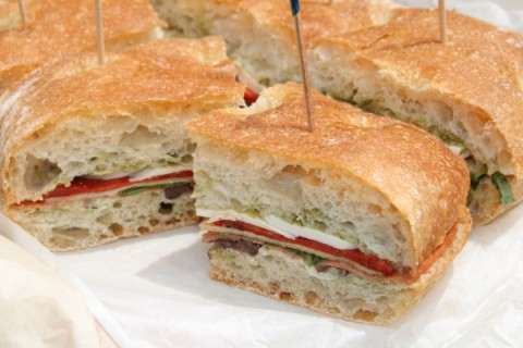 Italian Pressed Sandwich from Adventures with Nancy Rose