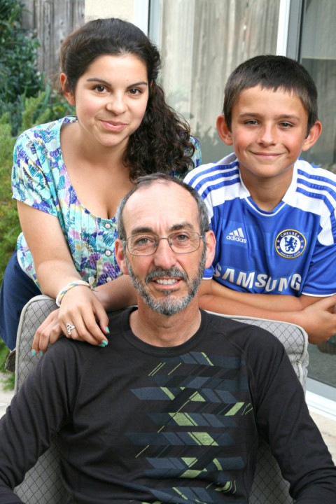 The professor and his kids