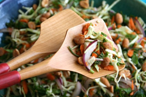 Thai-Style Cabbage Salad