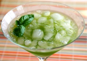 Basilrita Basil Margarita on Shockingly Delicious