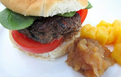 Best Onion Mushroom Burger