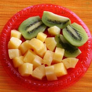 frozen fruit for Yonanas