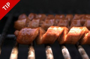 Spiral Cut Hot Dogs from Chow.com