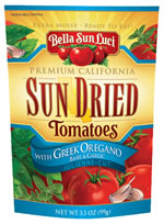 Bella Sun Luci Sun Dried tomatoes with Greek Oregano