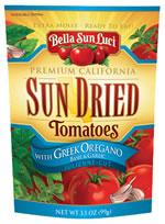 Bella Sun Luci Sun Dried tomatoes with Greek Oregano