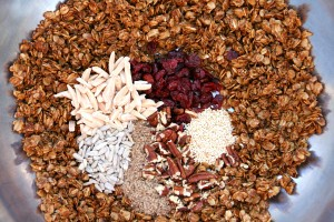 Ingredients for Skillet Granola