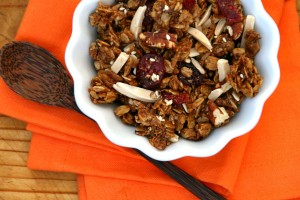 Skillet Granola on ShockinglyDelicious.com