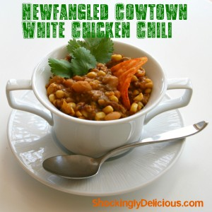 Newfangled Cowtown White Chicken Chili