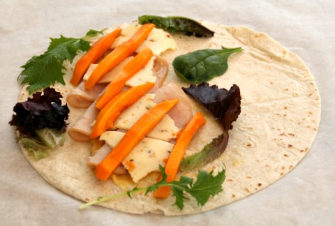 Turkey, Mango and Pepper Jack Wrap