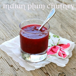 Indian Plum Chutney