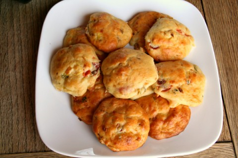 Savory Feta & Tomato Biscuits from Girl + Fire
