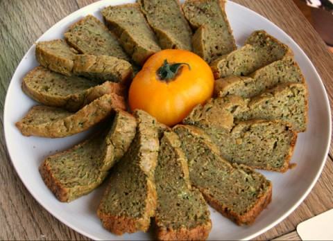 Avocado Zucchini Bread with Olive Oil from Cooking on the Weekends