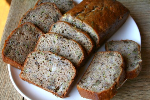 Banana Zucchini Bread from Two Broads Abroad