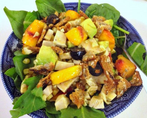 Summer Nectarine Chicken Salad