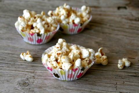 Bacon Truffle Kettle Corn on ShockinglyDelicious.com