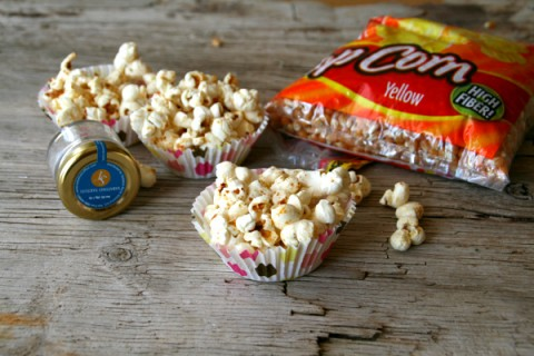 Bacon Truffle Kettle Corn on ShockinlyDelicious.com will ruin you for regular popcorn