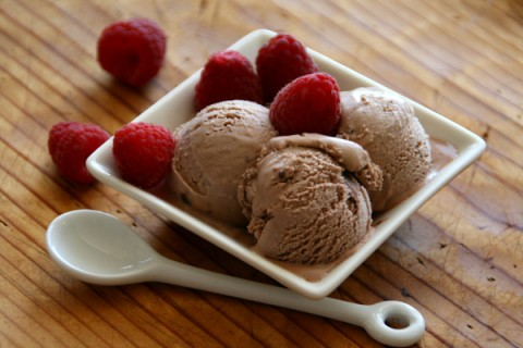 Nutella Ice Cream on ShockinglyDelicious.com