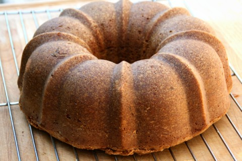 Zucchini Cookie Butter Bundt Cake