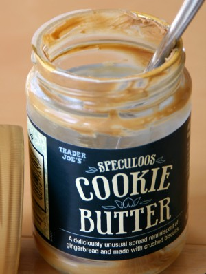 Cookie Butter from Trader Joe's