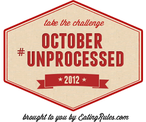 October Unprocessed Badge