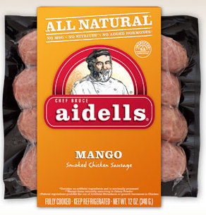 Aidells Mango Chicken Sausage