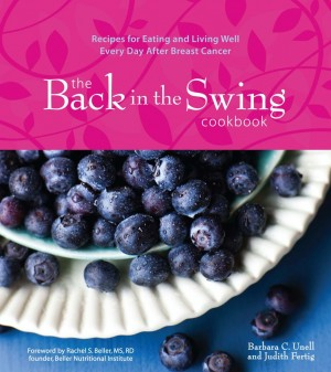 Back in the Swing cookbook cover