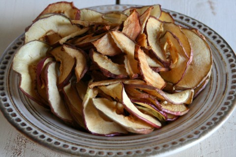 Dried Apple and Pear Chips from Eating Rules