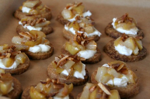 Pear Tartlets from More Please Recipes