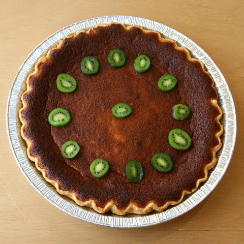 Lemon Cloud Pie -- -- Malibu Pie Contest 2012