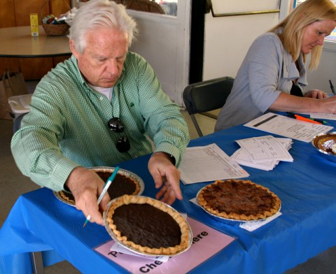 Pie check in -- Malibu Pie Contest 2012