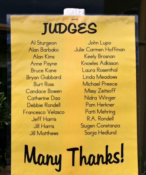 Judges -- Malibu Pie Contest 2012