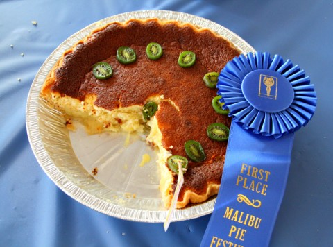 Blue Ribbon in the Malibu Pie Contest 2012