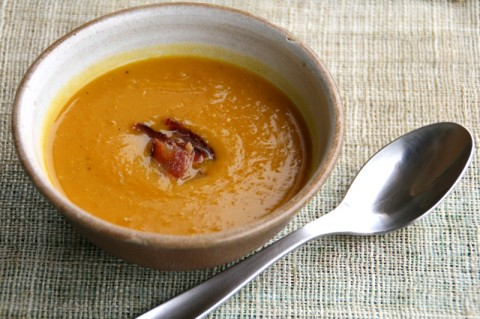 Roasted Pumpkin Cumin Soup