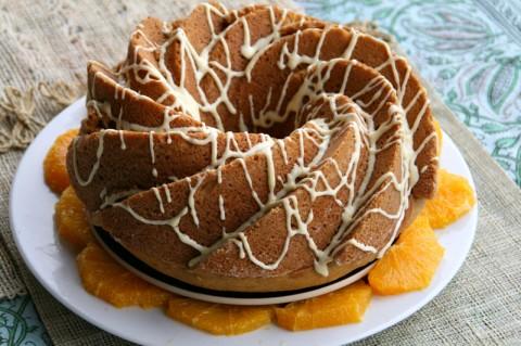 Vintage Roasted Pumpkin Spice Cake