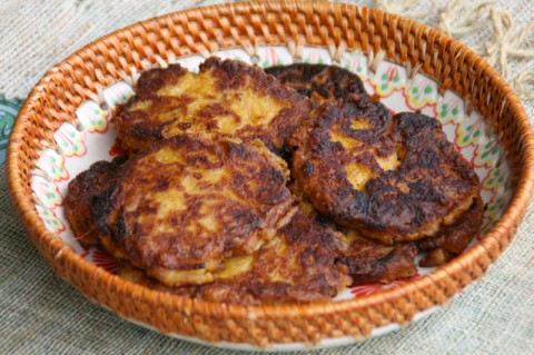 Mashed Potato Pumpkin Pancakes