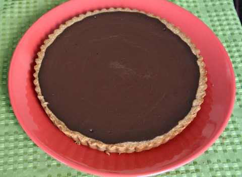 Melt in Your Mouth Chocolate Tart