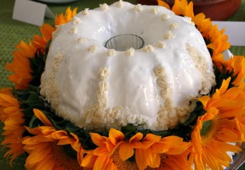 Vintage Crushed Pineapple Cake