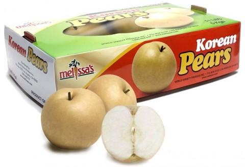 Korean Pears in a box