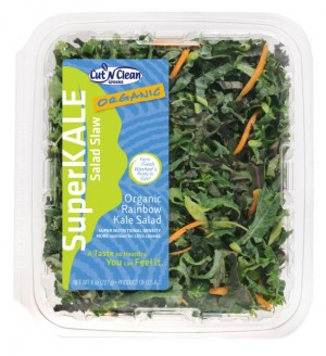 Cut `n Clean Greens SuperKALE Organic Rainbow Kale Salad