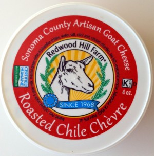 Redwood Hill Farm Roasted Chile Chevre on ShockinglyDelicious.com