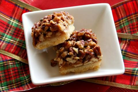 Best Ever Pecan Pie Bars. Recipe here: https://www.shockinglydelicious.com/?p=10780