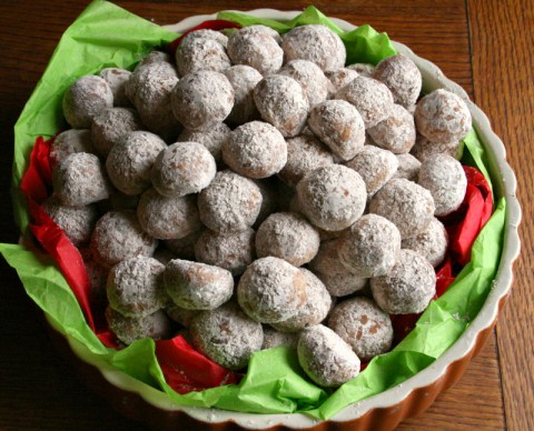 New Mexican Wedding Cookies