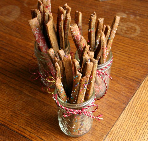Spicy Gingerbread Sticks